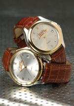 Leather Band Gold Watch, Dress Watches, Corporate Gifts