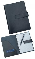 Black Leather Writing Pad,Corporate Gifts